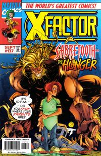 Cover Thumbnail for X-Factor (Marvel, 1986 series) #137 [Direct Edition]