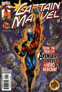 Cover Thumbnail for Captain Marvel (Marvel, 2000 series) #1 [Direct Edition]