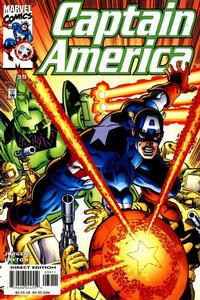 Cover for Captain America (Marvel, 1998 series) #39 [Direct Edition]