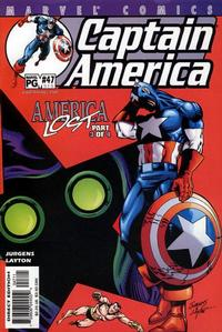 Cover Thumbnail for Captain America (Marvel, 1998 series) #47 (515 [514]) [Direct Edition]