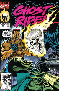 Cover Thumbnail for Ghost Rider (Marvel, 1990 series) #20 [Direct Edition]