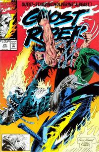 Cover Thumbnail for Ghost Rider (Marvel, 1990 series) #29 [Direct Edition]