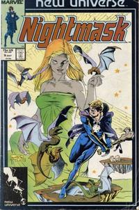 Cover Thumbnail for Nightmask (Marvel, 1986 series) #9 [direct]
