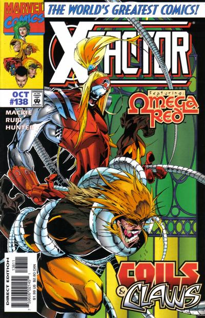 Cover for X-Factor (Marvel, 1986 series) #138