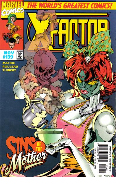 Cover for X-Factor (Marvel, 1986 series) #139 [Direct Edition]