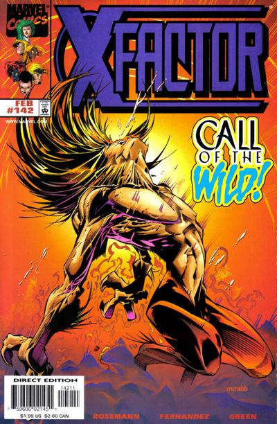 Cover for X-Factor (1986 series) #142