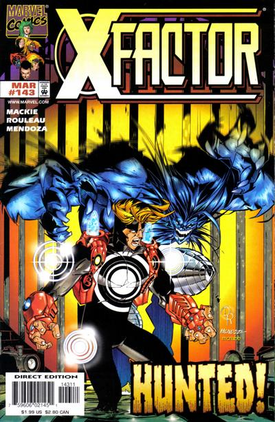 Cover for X-Factor (Marvel, 1986 series) #143 [Direct Edition]