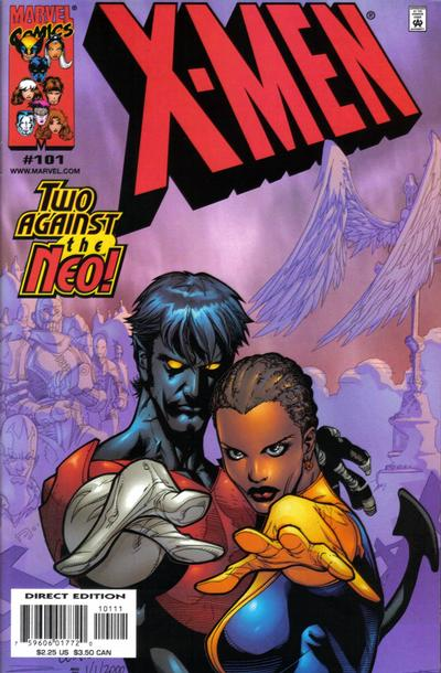 Cover for X-Men (1991 series) #101