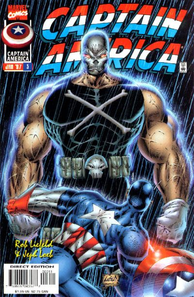 Cover for Captain America (Marvel, 1996 series) #3 [Direct Edition]