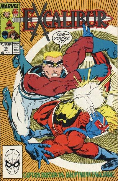 Cover for Excalibur (1988 series) #10