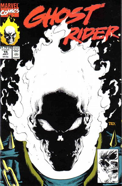 Cover for Ghost Rider (1990 series) #15