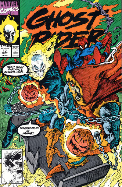 Cover for Ghost Rider (Marvel, 1990 series) #17