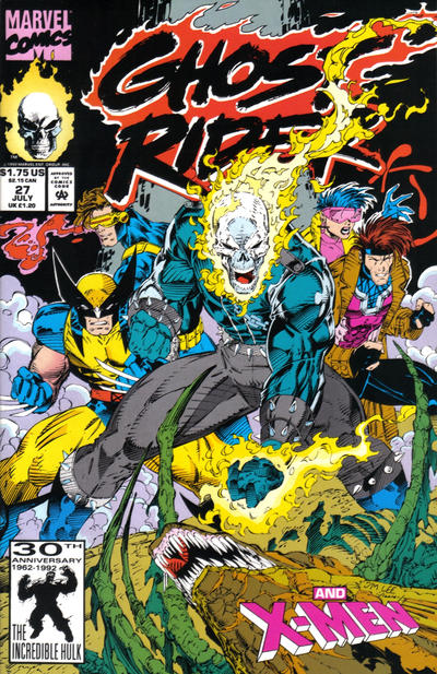 Cover for Ghost Rider (Marvel, 1990 series) #27