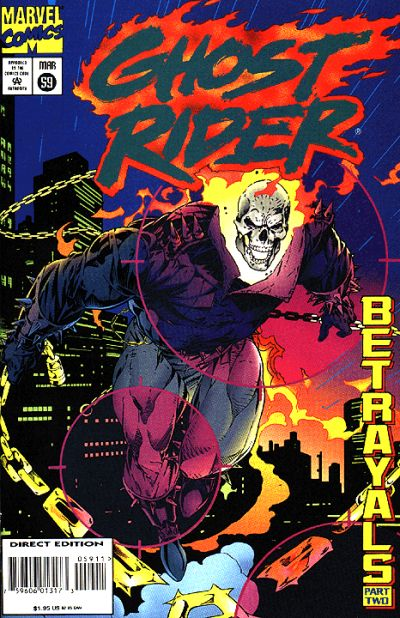 Cover for Ghost Rider (Marvel, 1990 series) #59