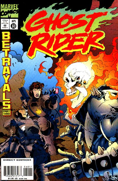 Cover for Ghost Rider (1990 series) #60