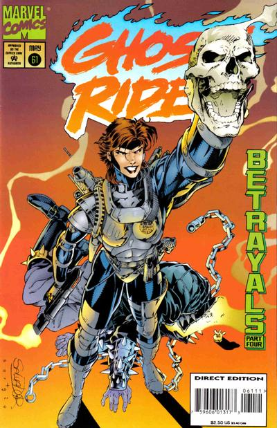 Cover for Ghost Rider (Marvel, 1990 series) #61