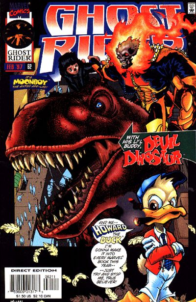 Cover for Ghost Rider (1990 series) #82