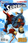 Cover for Supergirl (DC, 2011 series) #2
