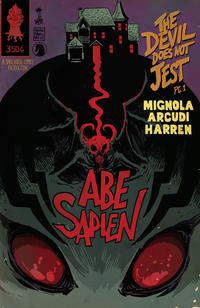 Cover Thumbnail for Abe Sapien: The Devil Does Not Jest (Dark Horse, 2011 series) #1 [Francesco Francavilla variant cover]