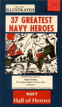 Cover for 37 Greatest Navy Heroes (1969 series) #[nn]