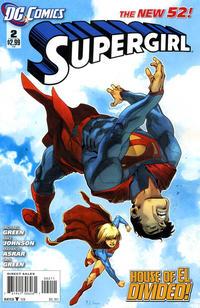 Cover Thumbnail for Supergirl (DC, 2011 series) #2