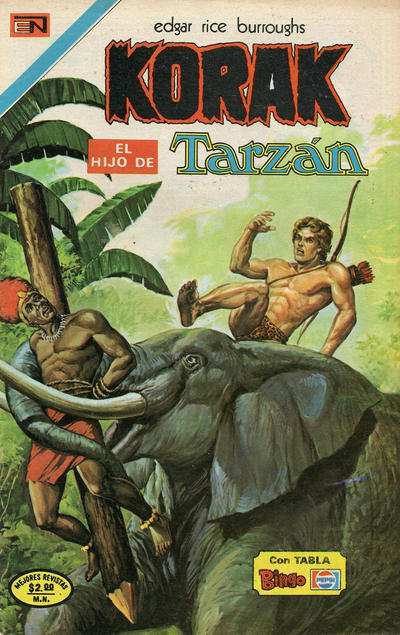 Cover for Korak (Editorial Novaro, 1972 series) #33