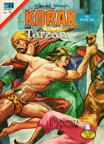 Cover for Korak (1972 series) #58