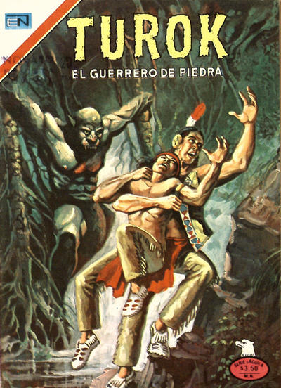 Cover for Turok (Editorial Novaro, 1969 series) #136