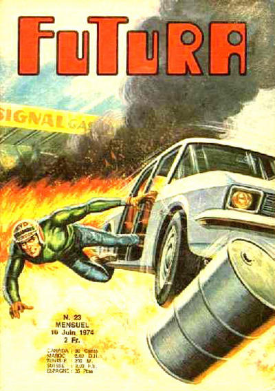 Cover for Futura (Editions Lug, 1972 series) #23