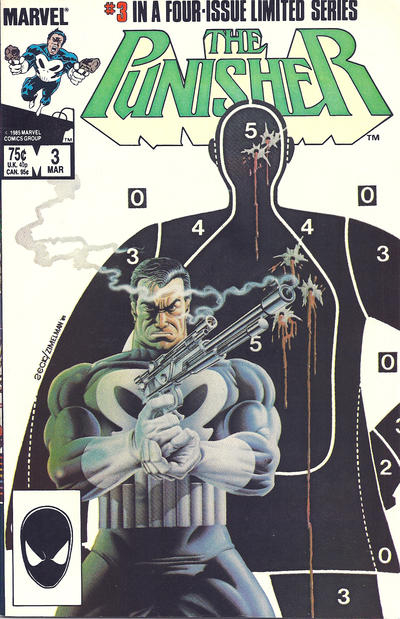 Cover for The Punisher (Marvel, 1986 series) #3 [newsstand]