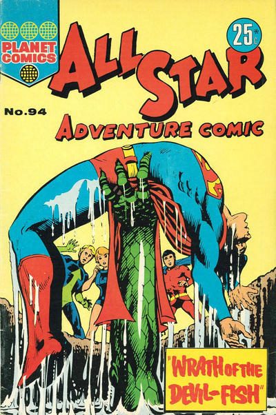 Cover for All Star Adventure Comic (K. G. Murray, 1959 series) #94
