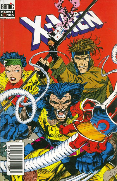 Cover for X-Men (Semic S.A., 1992 series) #3