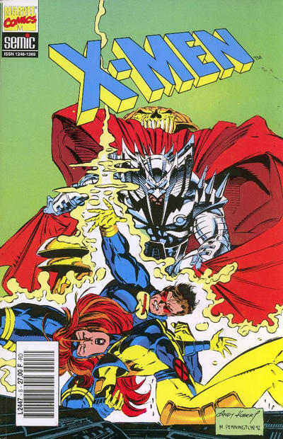 Cover for X-Men (Semic S.A., 1992 series) #8
