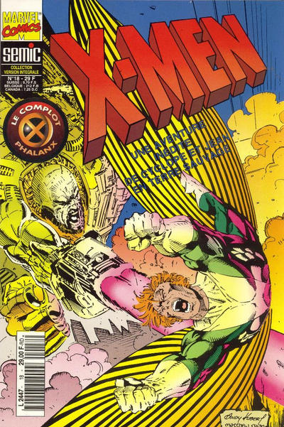 Cover for X-Men (Semic S.A., 1992 series) #18