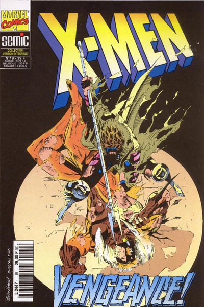 Cover for X-Men (Semic S.A., 1992 series) #19