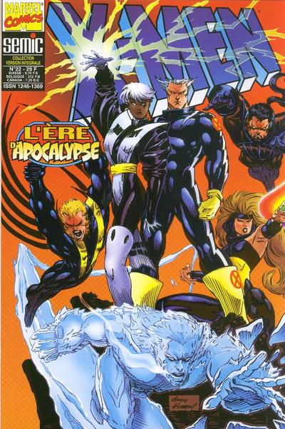 Cover for X-Men (Semic S.A., 1992 series) #22
