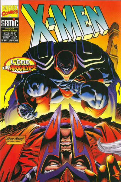 Cover for X-Men (Semic S.A., 1992 series) #23