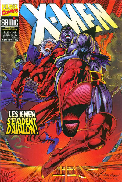 Cover for X-Men (Semic S.A., 1992 series) #25