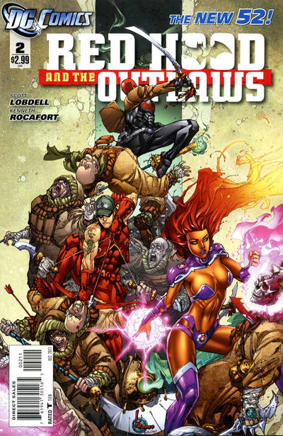 Cover for Red Hood and the Outlaws (DC, 2011 series) #2