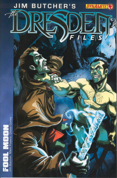 Cover for Jim Butcher's The Dresden Files: Fool Moon (Dynamite Entertainment, 2011 series) #4