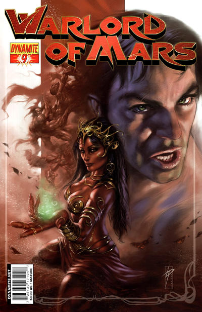Cover for Warlord of Mars (2010 series) #9 [Cover B - Lucio Parrillo]