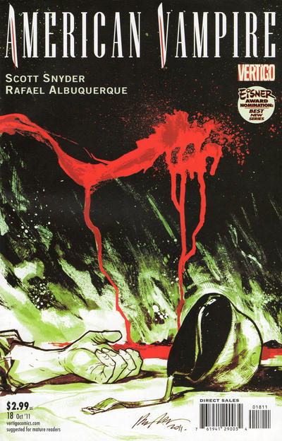 Cover for American Vampire (DC, 2010 series) #18
