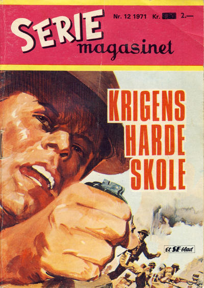 Cover for Seriemagasinet (Se-Bladene, 1955 series) #12/1971