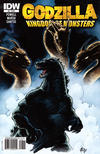 Cover Thumbnail for Godzilla: Kingdom of Monsters (2011 series) #8 [Eric Powell standard cover]