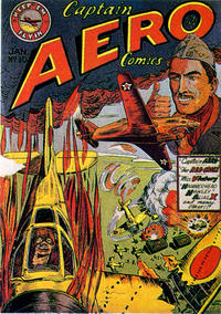 Cover Thumbnail for Captain Aero Comics (Holyoke, 1942 series) #v2#4 (10)