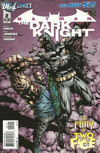 Cover Thumbnail for Batman: The Dark Knight (DC, 2011 series) #2