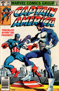 "Cover for Captain America (Marvel, 1968 series) #241 [J.C. Penney ""Vintage Pack"" 2nd printing]"