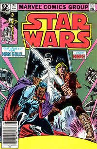 Cover Thumbnail for Star Wars (Marvel, 1977 series) #71 [Newsstand Edition]