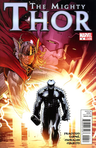 Cover for The Mighty Thor (Marvel, 2011 series) #6 [Architect Variant]