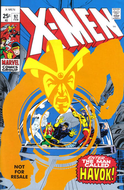 Cover for X-Men No. 97 [Marvel Legends Reprint] (Marvel, 2005 series)